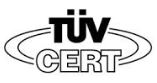 TUV Certified Accredited